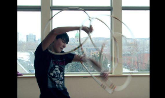 Indigenous Hoop Dance